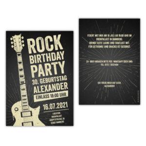 einladungskarten-rockparty-vintage-gitarre